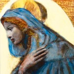 Angela Chiassai, Luce di speranza (tecnica mista, 60x80)