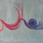 Laura Rago, Palpiti (acrilico su tela, 35x50)